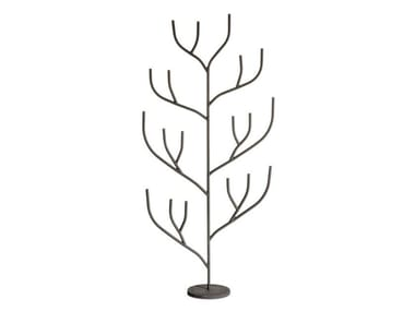 Powder coated steel vase DRIADE - HANAHANA Black