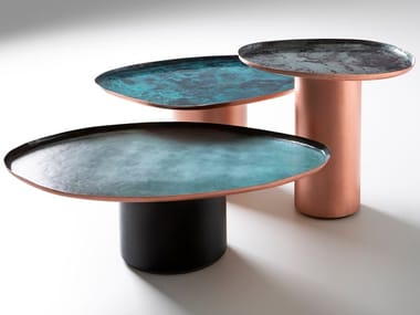 Metal coffee table DROPS