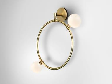 LED brass wall lamp DROPS   Wall lamp