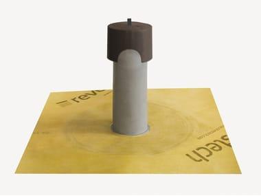 Chimenea de ventilación para cubiertas DRY80 CHIMENEA