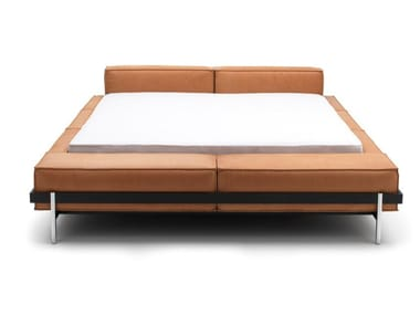 Leather bed double bed DS-1121 | Bed