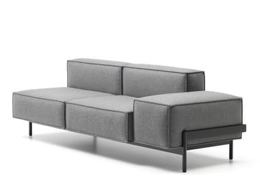 2 seater fabric sofa DS-21 | Fabric sofa
