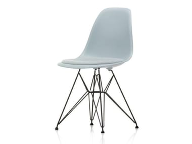 Polypropylene chair with integrated cushion DSR | Chair with integrated cushion