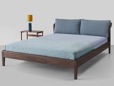 Walnut bed DUB | Bed