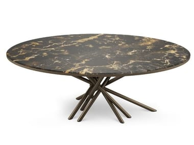 Oval marble dining table DUCHESS | Table