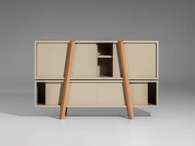 Sideboard with sliding doors DUJA