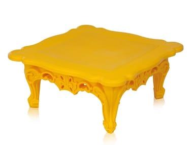Tavolino quadrato in polietilene da salotto DUKE OF LOVE