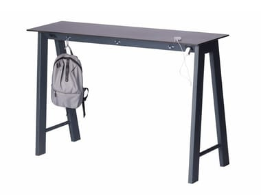 Rectangular metal high table DUMOBAR | High table
