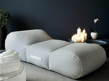 Fabric spa bed DUNE | Spa bed