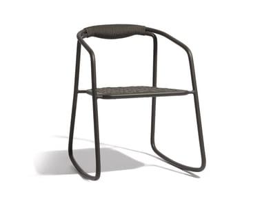 Rocking rope garden chair DUO | Rocking chair