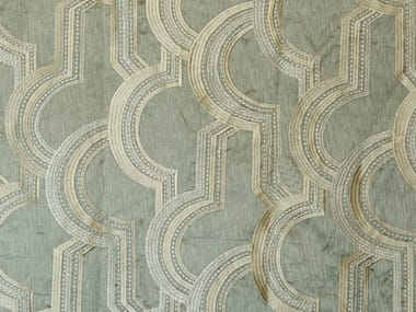 Fabric with graphic pattern DUOMO