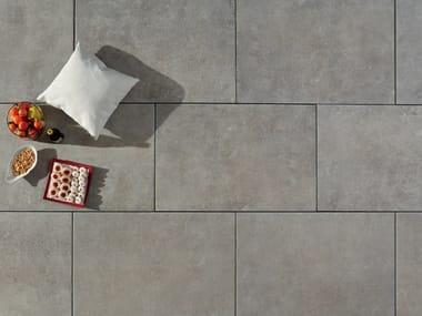 Carrelage extérieur effet pierre DUOMO BLUESTONE GREY