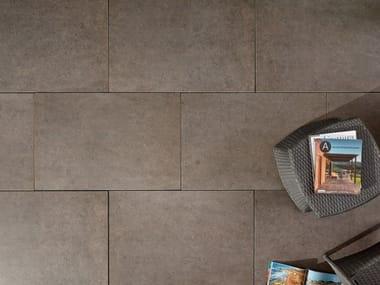 Revêtement de sol effet pierre pour intérieur et extérieur DUOMO OMBRA