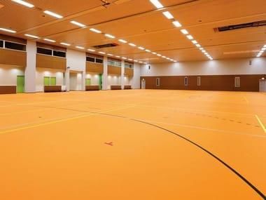 Vinyl sports flooring DURASPORT