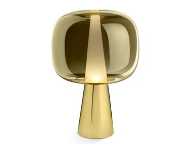 Glass table lamp DUSK DAWN   Table lamp