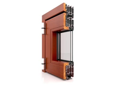 Aluminium casement window DW 860