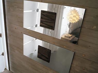 Steel and wood Decorative panel Decorative panel