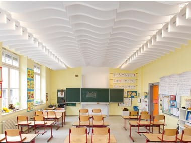 Baffle acustici in Basotect® Designed acoustic baffle single