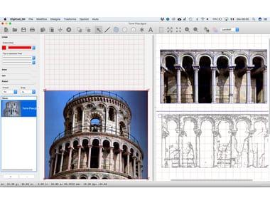 Photographic survey, photo-straightening DigiCad 3D 10