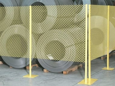 Construction site temporary and mobile fencing Dividers