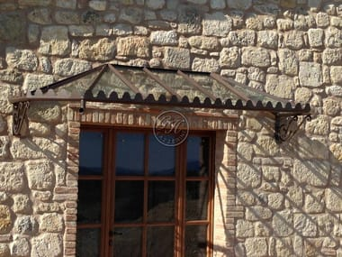 marquesina de hierro door canopy 3
