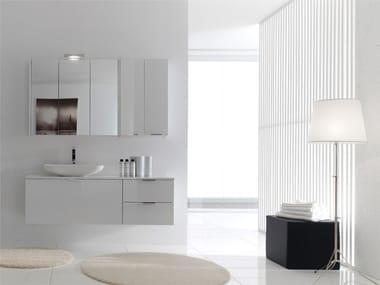 Sistema bagno componibile E.LY INCLINATO - COMPOSIZIONE 03