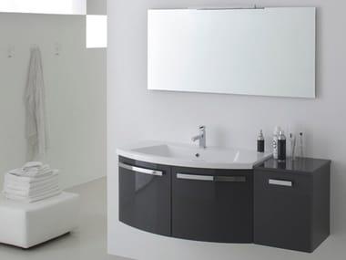 Sistema bagno componibile E.LY INCLINATO - COMPOSIZIONE 06