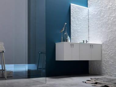 Sistema bagno componibile E.LY INCLINATO - COMPOSIZIONE 31