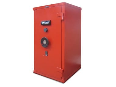 Floor standing combination safe with key E SERIES