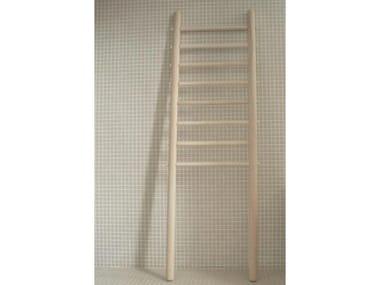 Standing wooden towel rack E2 | Standing towel rack