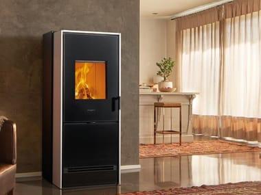 Multi-fuel faïence stove E228 D