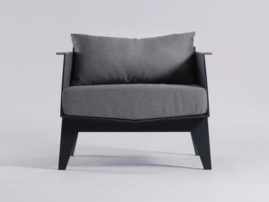 Upholstered armchair E6
