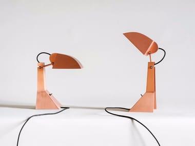 Lampada da tavolo in acciaio E63