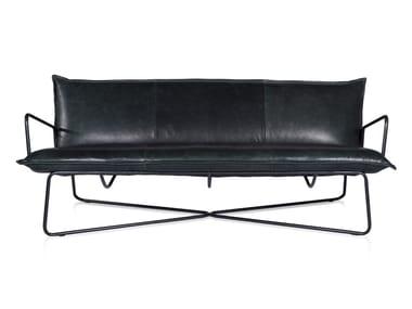 3 seater leather sofa EARL | 3 seater sofa