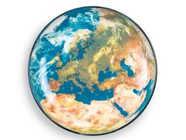 Porcelain plate EARTH EUROPE