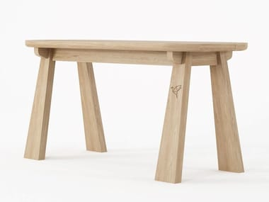 Solid wood bench EAST | Bench