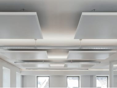 Metal hanging acoustical panel EASY CANOPY