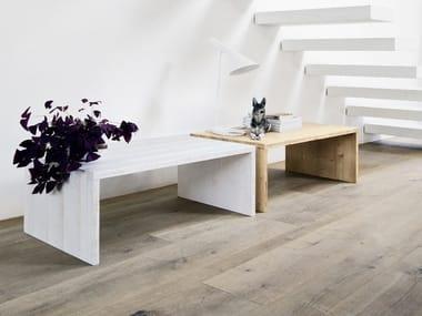 Tavolino rettangolare in abete da salotto EASY   Tavolino