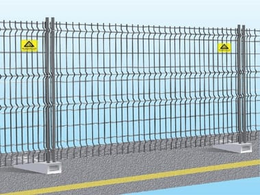 Construction site temporary and mobile fencing EASY FIX