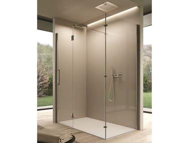 Corner rectangular glass shower cabin EASY   Shower cabin