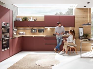 Cucina componibile in legno con maniglie EASYTOUCH 963