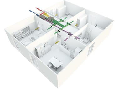 Mechanical forced ventilation system EASYCLIMA