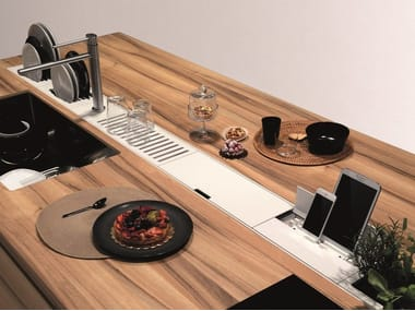 Kitchen equipped track EASYRACK KITCHEN FLAT | Dockstation