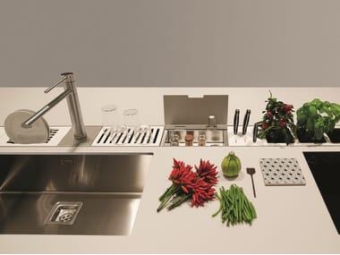 Canale attrezzato per cucina EASYRACK KITCHEN FLAT | Canale attrezzato per cucina
