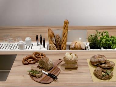 Accessorio per canale attrezzato EASYRACK KITCHEN STEP | Canale attrezzato per cucina