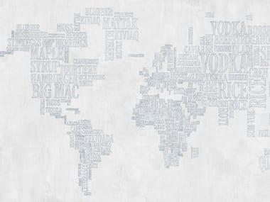 Papel de parede com escrita EATMAP