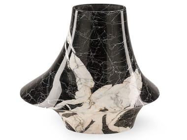 Marble vase ECCENTRICO SMALL