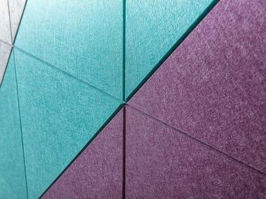 Sound absorbing PET wall tiles ECHOBOARD®