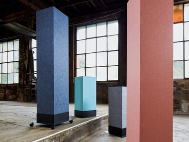 Recycled PET acoustic column ECHOTOWER®