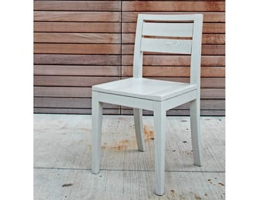 Wooden chair ECLETTICA | Contemporary style chair
